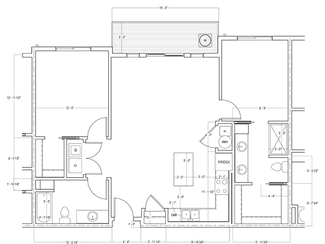 Willow Oak Floorplan