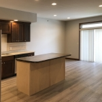 One Willow Creek Linden Apartments Kitchen and Living Room