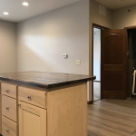 One Willow Creek Linden Apartments Kitchen and Laundry