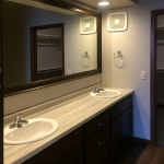One Willow Creek Willow Oak Apartment Master Bathroom