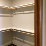 One Willow Creek Willow Oak Apartment Master Bedroom Closet